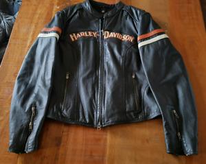 Manteau Harley Davidson cuir