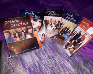 Five seasons of Private Practice (Grey's Anatomy spin-off)