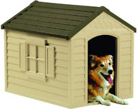 DOG HOUSE - COMFORTABLE AND DRY - COMPARE SURPLUS PRICES!!
