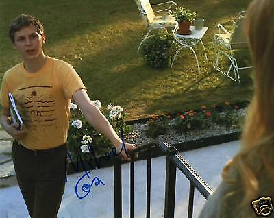 Michael Cera Juno Youth In Revolt Signed 8X10 Picture