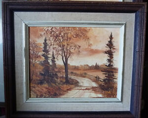 3 Original Oil Paintings from a Series by O.J. Coghlin Stratford Kitchener Area image 5