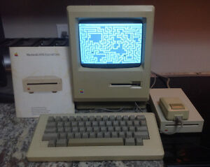 Vintage 1984 Apple Plus Computer System