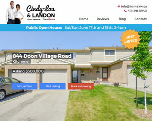 Open House Sat. June 17 and Sun. June 18 from 2-4 pm