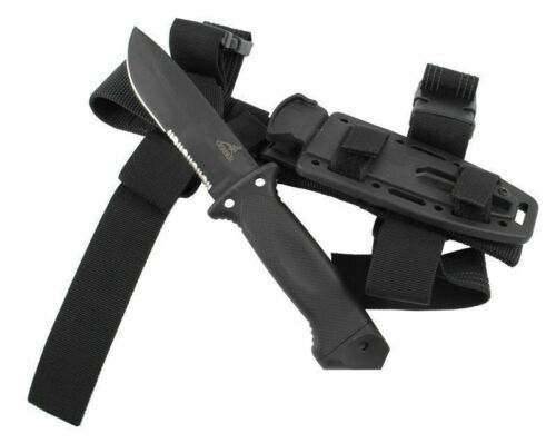 Gerber LMF II Infantry Tactical Knife-Fixed Blade, BLACK ,With Sheath BRAND NEW