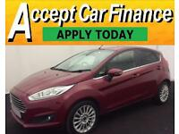 Ford Fiesta 1.6 ( 105ps ) Powershift 2013.25MY Titanium FROM £25 PER WEEK!