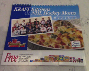 Kraft Kitchens & NHL Hockey Moms Recipes, 1998
