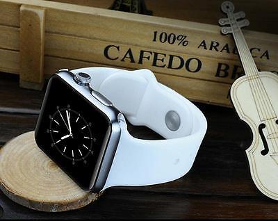 WHITE DM09 Smart Android IOS Phone Watch WristWatch Bluetooth Smartwatch HTC LG