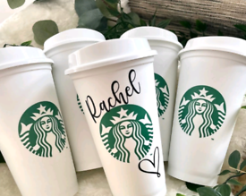 Personalise your own Starbucks Cup