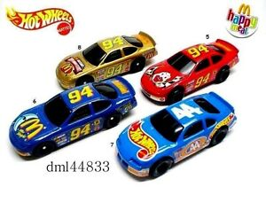 MIP-1998-McDonalds-Hot-Wheels-Mint-Set-Lot-of-4