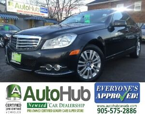 2012 Mercedes-Benz C-Class C250-NAVIGATION-4MATIC-LEATHER-SUNROO