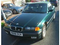 BMW 323i 2.5 petrol convertible