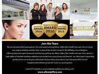 Brighton's No1, Multi-Award Winning Skin Clinic Recruiting Now - Medical Administrator Receptionist