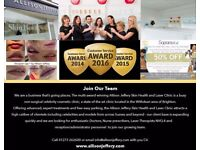 No1 Celebrity Skin Clinic Recruiting - 4th Laser Therapist NVQ 3/4