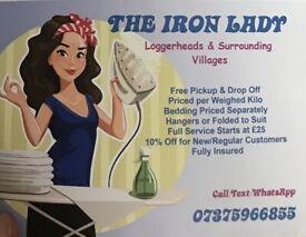 The Iron Lady - Ironing Service