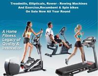 Exercise Bike Treadmill Spin Bike Elliptical Recumbent Bike