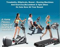Exercise Bike Treadmill Spin Bike Elliptical Recumbent Bike