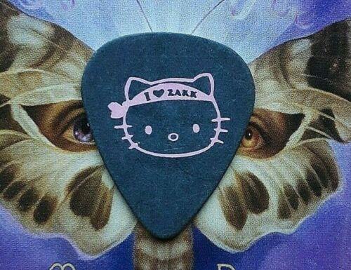 BLACK LABEL SOCIETY Zakk Wylde I Love Zakk headband pink cat on blac guitar pick