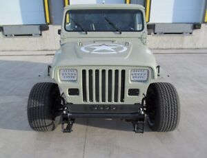 JEEP YJ LAREDO US ARMY M38 HOT ROD