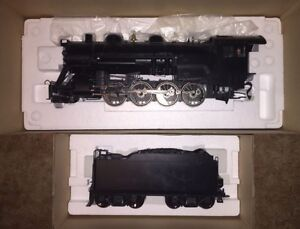 G Scale Aristocraft 2-8-0 undecorated.