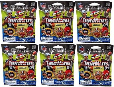 Party Animal NFL TeenyMates SERIES 7 Figurines Mystery Packs (6 - Nfl Party