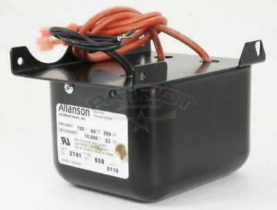 Allanson 2741-658 Ignition Transformer For Beckett Afii Oil Burners 3-32ab-baf