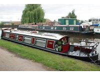 40 ft Cruiser Stern Narrowboat With London Mooring