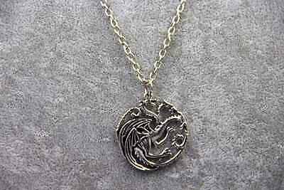 GoT Targaryen Dragon Necklace Game of Thrones - Necklace Game