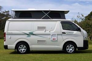 2015 Toyota Automatic Sunliner Campervan Turbo Diesel Very Low Km Albion Park Rail Shellharbour Area Preview