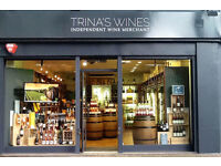 Shop Assistant in Independent Wine Merchant, Putney