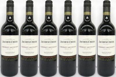 6x JACOB´S CREEK CABERNET SAUVIGNON 0,75l - Wein - Rotwein - Australien -