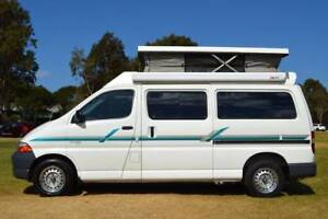 Toyota SBV Kea Campervan with Low Km, Hot Water & Shower