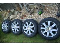 VW Alloy wheels and tyres