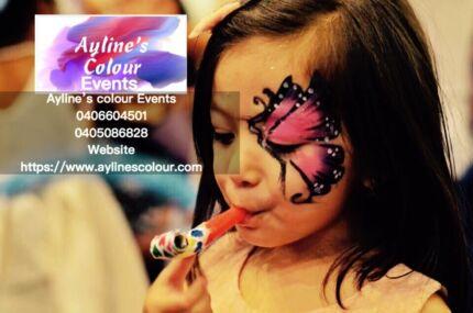 Ayline's colour Events Facepainting