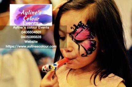 Facepainting + Balloon Twisting + Henna Decorations,Dj +photography