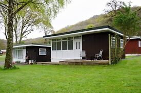 Chalet new quay west Wales woodlands holiday park
