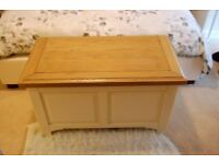 Solid Wooden Chest / Blanket Box / Ottoman