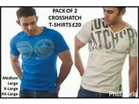 Mens Crosshatch T shirts