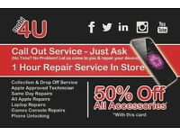 High Quality Reliable Screen Repairs (Glass OR LCD) For All Android Devices