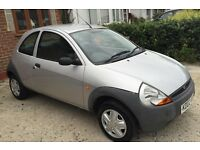 Ford Ka - Silver - 02 Plate - perfect first car