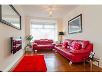 FOR SALE - 2 and 3 seaters red leather sofas
