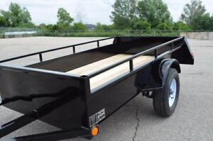 Utility Trailers Best Price on the Market! 5 Year Structural Warranty! High Quality, Steel, Canadian Made!