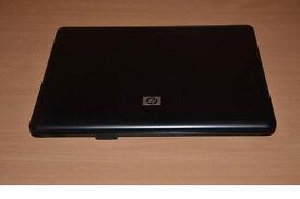 BLACK HP LAPTOP. WEBCAM , 15 INCH , DVDRW. WINDOWS 7