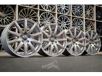 "*Refurbished* Genuine 18"" Audi Speedline TT Alloy Wheels 5x112 VW Skoda Seat"