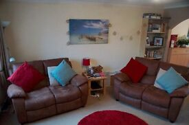 2 x two seater sofas in great condition