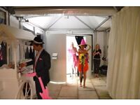 PHOTO BOOTH HIRE FROM £99 **WEDDINGS/PARTYS/EVENTS** PLEASE CALL/TEXT FOR QUOTATION 07491161277