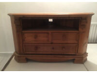 Wooden TV Unit / Stand - Offers Welcome