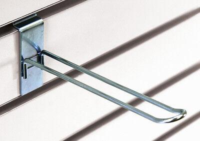 Slatwall Slatgrid 6 Loop Hook Peg Panel Display Fixture Zinc Lot Of 20 New