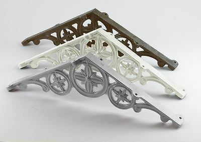 Antique Victorian Polished Aluminium 135º Ornate Conservatory Apex Truss Bracket
