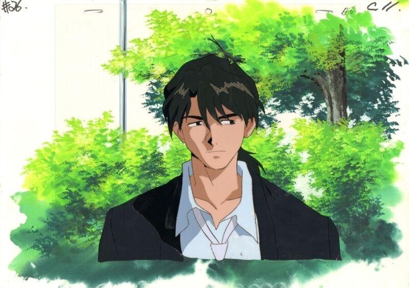 Anime Production Cel Evangelion #153
