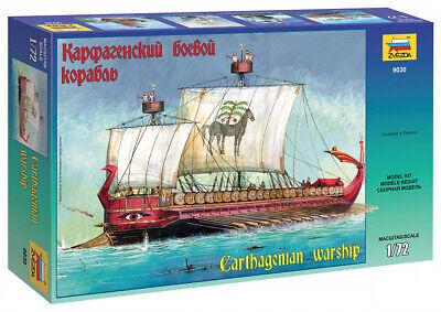 Zvezda 9030 Carthagenian Warships Model Kit 1/72